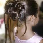 Forfait Chignon Enfant mariage et baptême - Coiffure Creation 64
